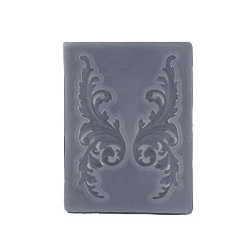 dise/ño de flores y resina epoxi estilo vintage Grape Molde de silicona para decoraci/ón de tartas Mmnas