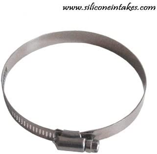 Black Hose Clamps 118-140mm TWIN PACK