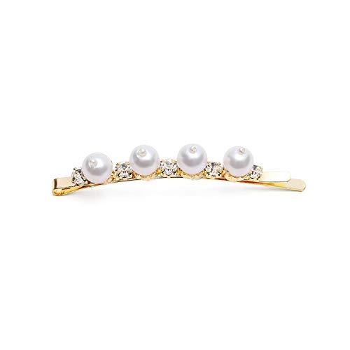 Full pearls Hair Clips for Women Fashion Sweet Imitation Korean Style Hairpins Alloy BB Hairgrip,FJ0309L
