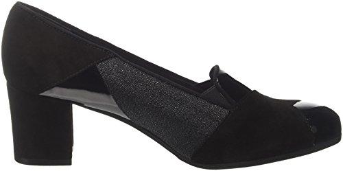 Grünland Women's Sc3555 Closed Toe Heels, Black Black (Nero Nero)