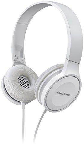 Panasonic Headband, Microphone, White Overhead, cord, RP-HF100ME-W (Overhead, cord) Mono Overhead Telephone Headset