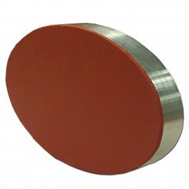 9.25'' x 5.5'' Oval Aluminum Puck by Maryland China Company