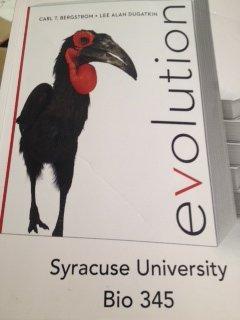 Evolution (Custom Edition for Syracuse University- Bio 345)