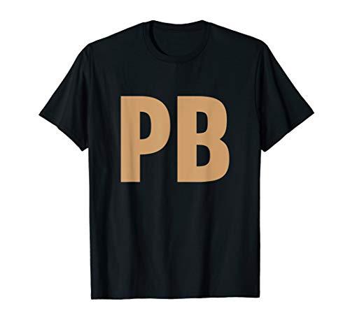 Peanut Butter and Jam PB&J Couples T-Shirt -