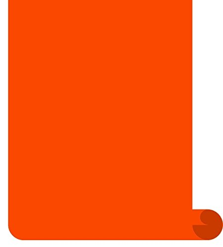 Siser EasyWeed Heat Transfer Vinyl HTV for T-Shirts 12 Inches by 3 Feet Roll (Orange)