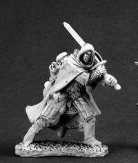 Reaper Miniatures Kieron, Ranger #03581 Dark Heaven Legends Unpainted Metal ()