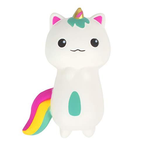 JZH Unicorn Squishies Cute Slow Rising Decompression Squeeze Toys Children Simulation Cute Unicorn Toy. (Unicorn cat) by Kosbon