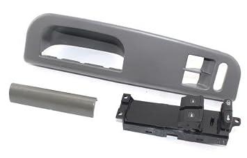 Gris parte delantera izquierda bisel embellecedor de Master Panel Power Window Switch Panel de control con