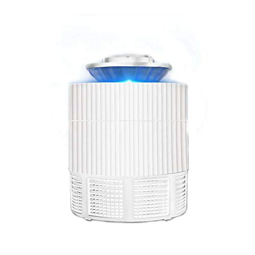Travel Personnel Care Mosquito Killer - 5W LED Mosquito Killer Lamp USB Insect Killer Lamp Bulb Non-Radiative Pest Mosquito Trap For Camping - white - 1 x Insect Killer (Ccfl Cold Cathode Fluorescent Lamp)