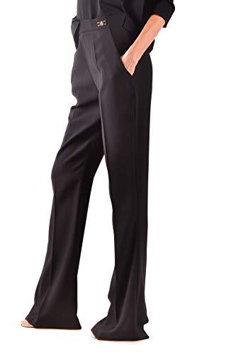 Elisabetta Mujer Poliéster Pantalón Negro Franchi Mcbi36176 TTw5qSPrx