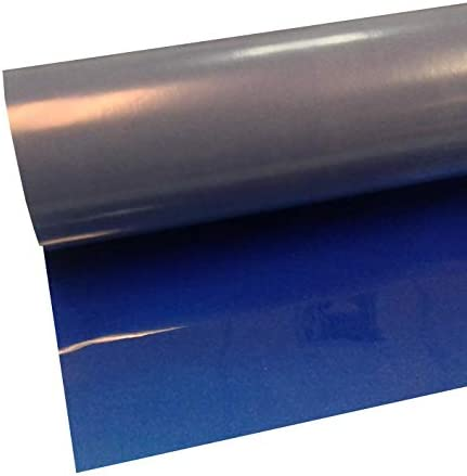 Blue Siser Electric 15 x 3 Iron on Heat Transfer Vinyl Roll HTV by Coaches World