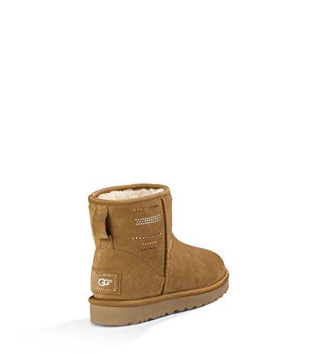 Bling B 9 Chestnut Mini M Classic Suede Serape Women's UGG Boot wzIxqC7y