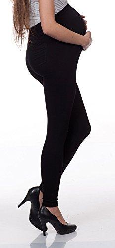 Gravidanza Set Leggings 2 La Per Collant Maternità Gravidanza Leggings Leggings Nero Leggins Moda Donna ryF1zwqr