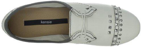 Kensie Womens Chica Oxford Blanc