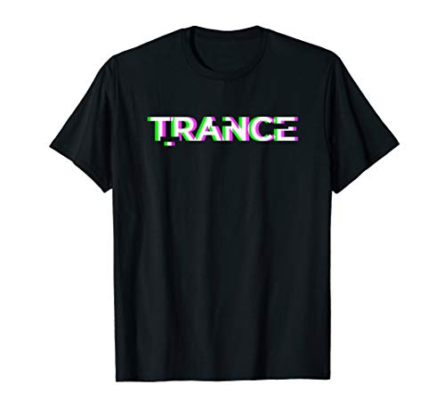 Black TRANCE Music T-Shirt