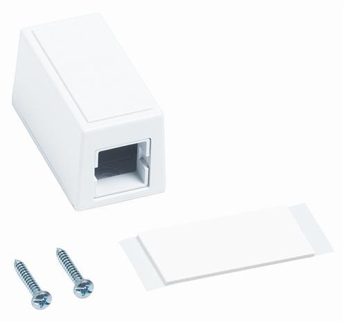 Uniprise M101 Type Surface Mount Box Pack of 4 M101SMB-B-262 single port white