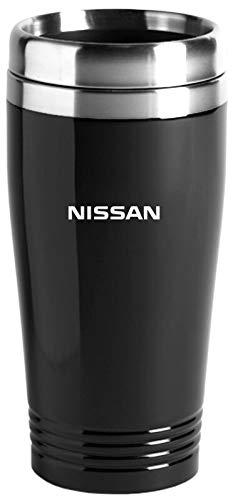 (Auto-Gold Nissan Travel Mug Travel Coffee Mug Cup Stainless Steel Tea Mug Thermo - Black)