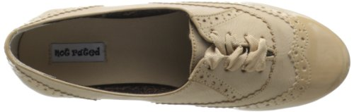Not Rated Womens Black Tie Oxford Cream sixfpZ
