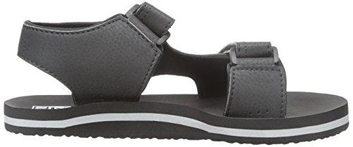 Reef Grom Stomper, Zapatos de Primeros Pasos para Bebés Varios colores (Charcoal / Red)