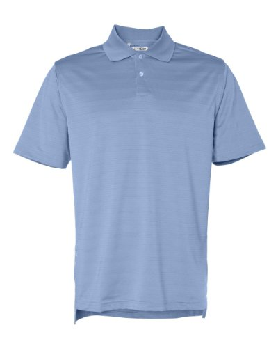 Adidas Mens ClimaCool Mesh Solid Textured Polo - Freeze - M