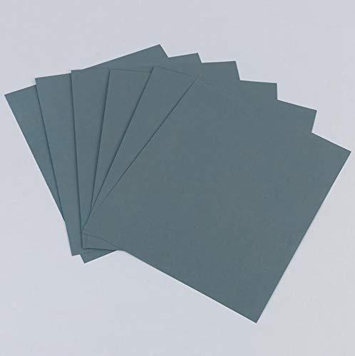 5 St/ück 80-8000 K/örnung Nass und Trocken I Schleifpapier f/ür Auto Metall Holzm/öbel 11 * 9, 8000 Glas Lack Profi Schleifpapier Set Stein
