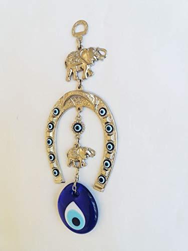Amazon.com: abalorio Global turco azul mal de ojo Encanto ...