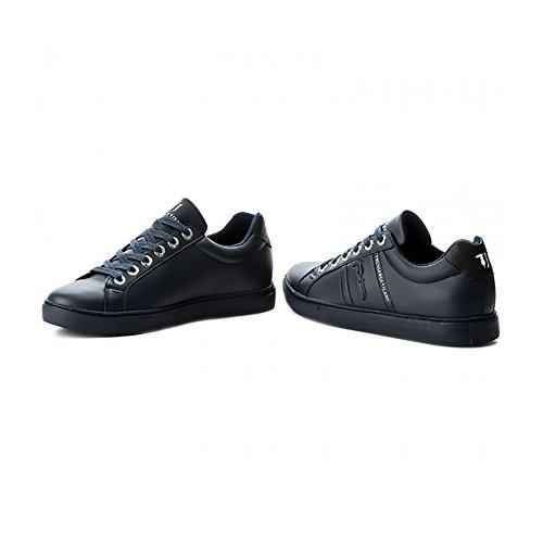 Trussardi Jeans Scarpe Sneakers Ecopelle Embossed
