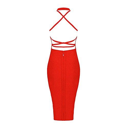 Zurück Kreuz Rot Verband Ansatz HLBandage Kunstseide Kleid Schnürsystem Halter zqgtHBXg