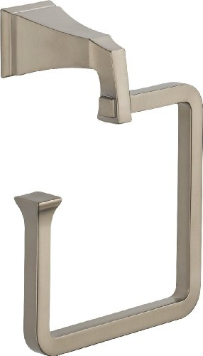 Steel Towel Ring Delta Stainless (Delta 75146-SS Dryden Towel Ring, Stainless)