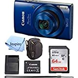 Best Cheap Point And Shoot Cameras - Canon PowerShot ELPH 190 Digital Camera COMPLETE BUNDLE Review