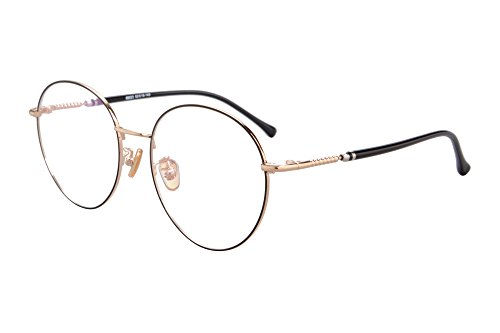 sh083 Clear Bleu Anti Shinu Black Optiques Lumiere Light fatigue Lens Frame Anti Blue Lunettes amp;gold r10vd0wnq5
