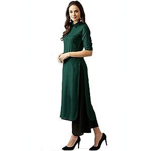 AnjuShree Choice Women's Viscose Regular Stitched Kurta