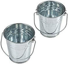 Bucket Drip - (2 Pack) Grease Buckets. Galvanized FITS All Traeger® Grills