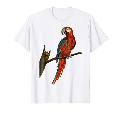 Hawaii Tropical Parrot Halloween Costume Bird Party Shirt -