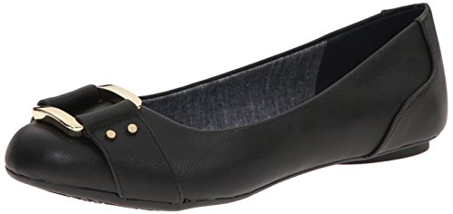 Dr. Scholl's Women's Frankie Ballet Flat Frankie, Black,11 M US (Black Flats Size 11)