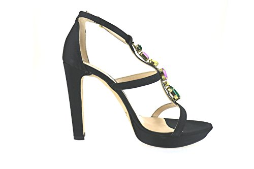 LIU JO sandali donna nero raso AH757
