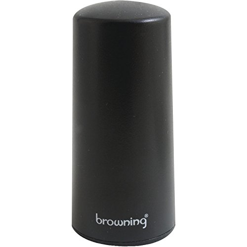 BROWNING BR-2427 4G/3G LTE Wi-Fi Cellular Pretuned Low-Profile NMO Antenna - ONE YEAR
