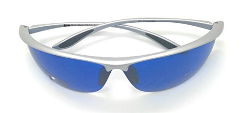 399dda34fce MyUV Golf Ball Finder Blue Lens Sunglasses%100 UV Production (Silver
