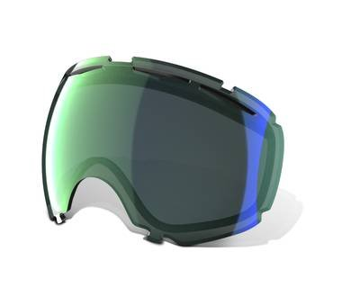 Oakley Canopy Goggle Replacement Lens Emerald Iridium, One Size
