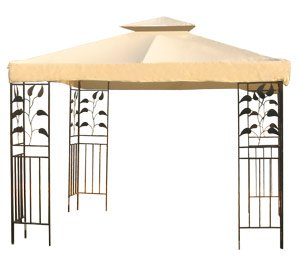 New 12x12 2-Tiered Replacement Gazebo Canopy Top - Beige  sc 1 st  Amazon.com & Amazon.com : New 12x12 2-Tiered Replacement Gazebo Canopy Top ...