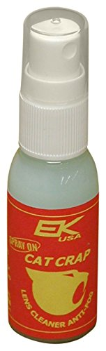 EK USA, Cat Crap Multi-Use Anti-Fog Spray, for any Optics, Coatings, Eyeglass Lens Cleaner, Spray On - 1 Ounce - Glasses Re Lens