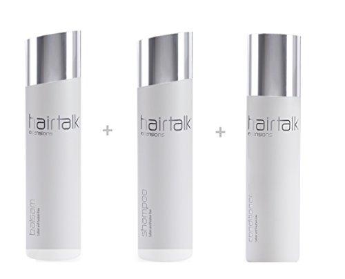 HAIRTALK Arcos Pflegeset Shampoo 250 ml 8,45 Oz + Balsam 250 ml 8,45 Oz Extensions,Haarverlängerungen,Bondings