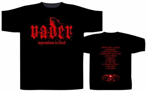 Official Merchandise Band T Shirt Vader Impressions Logo