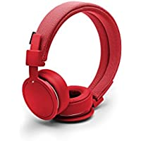 Urbanears Plattan ADV Wireless On-Ear Bluetooth Headphones, Tomato (4091100)