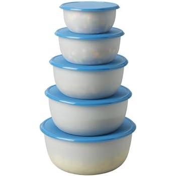 Amazoncom Ikea 50149560 Reda Food Container Blue Set of 5