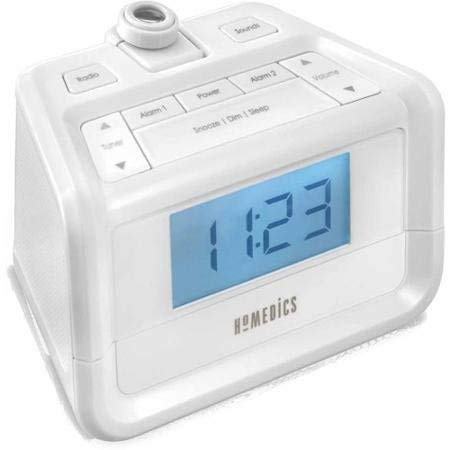 Time Projection SoundSpa Digital FM Clock Radio, - Radio Clock Projection Homedics