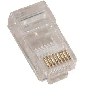 Bestlink RJ45 (8P8C) Plug for Stranded Flat Wire 100pk by BestLink