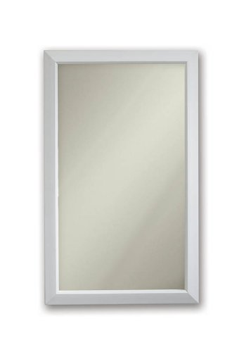 Broan-NuTone 625N244WHC Hampton Recessed and Framed Medicine Cabinet, White Frame Broan Recessed Steel Cabinets