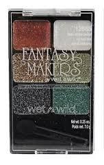 Fantasy Makers Wet-n-wild #12665 Daze of the Dead Glitter Palette+ Free Brush
