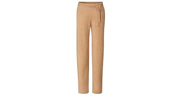 CURARE Yoga de Wide de Pantalones de Lana de Merino - Camel ...